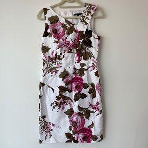 David Meister Floral Dress Sz 6